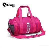 Túi trống thể thao màu hồng