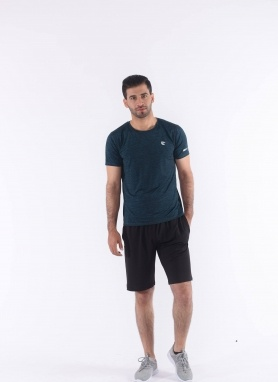 Áo T-shirt nam màu xám đậm 221027