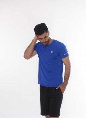 Áo T-shirt nam màu xanh 221026
